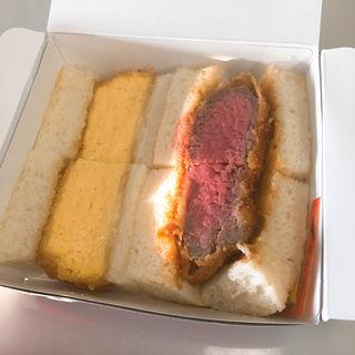 ミックスサンド(レストラン ヨコオ 大阪のれんめぐり店)
