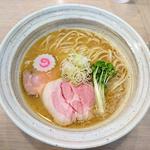 魚介鶏そば(醤油)