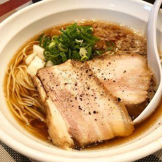 醤油ラーメン あっさり(麺屋びびび)