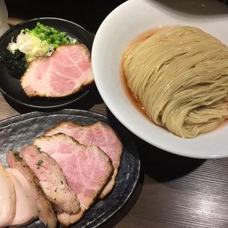 海老出汁細つけ麺中、チャーシュー盛り(つけ麺一燈 (ツケメンイットウ))