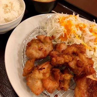 から揚げ定食(明日香 (アスカ 【旧店名】とんかつ山脈))