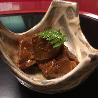 あん肝(うなぎ割烹 大江戸 (おおえど))