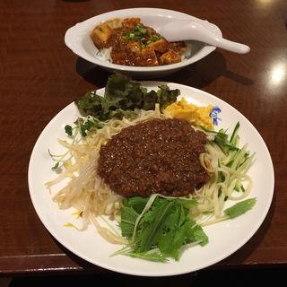 ジャージャー麺とミニ麻婆豆腐丼(小燕京 (ショウエンキン))