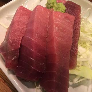 鮪のお刺身(大衆居酒屋 末廣屋 (スエヒロヤ))