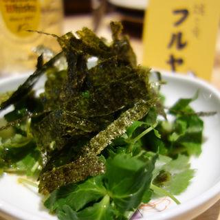 福岡三つ葉のサラダ(鶏と肴 フルヤ)
