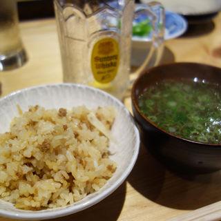 かしわ飯(鶏と肴 フルヤ)
