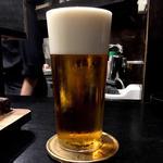 生ビール(マスターズドリーム)(焼き鳥 松元)
