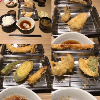 季節の天ぷら定食(18/夏)(博多天ぷら たかお ジョイナス横浜店 )