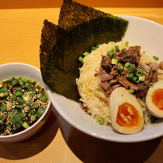 冷しつけ麺(博多ラーメン ばりきや 狸小路店)