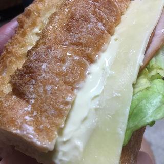 石窯バケットサンド/ハム&チーズ(ファミリーマート 札幌南6条西9丁目店)