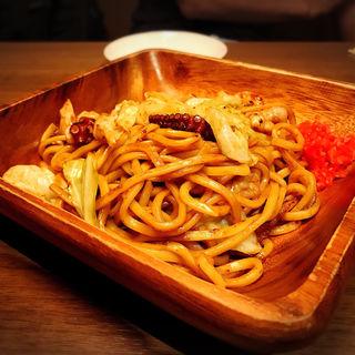 ミックス焼きそば(ソース味)(らんぷ )