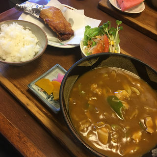 大吉カレー定食(うどん・そばのお食事処 玉川 (たまがわ))