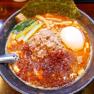 味玉KARA辛ーメン(麺座 かたぶつ )