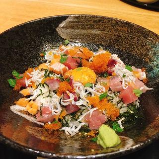 海鮮丼(旬和席 うおまん 西梅田本店 )