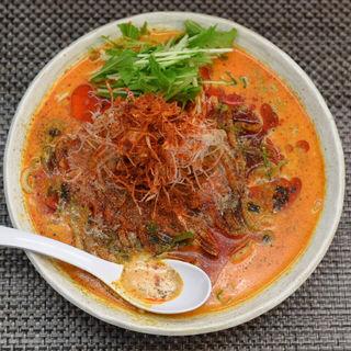 冷やし豆乳担々麺(麺や 睡蓮 (メンヤ スイレン))