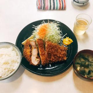 極上ロースとんかつ定食(まるやま食堂 )