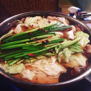 もつ鍋 しょうゆ味・塩味・みそ味(博多 びすとろ龍や)