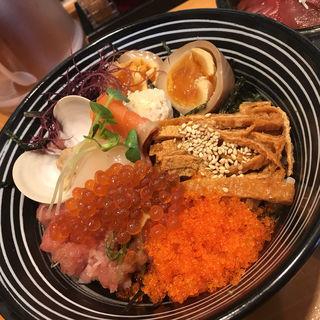 ちらし麺 松(鮮魚鶏出汁麺 沢むら )