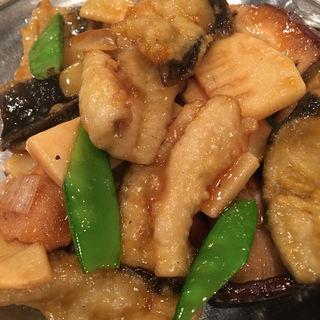 ウナギのカキ油炒め(麗郷 渋谷店)