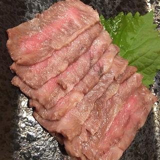 ローストビーフ(手打ち蕎麦 松庵)