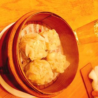 ワタリガニ入りの焼売(たこりき )