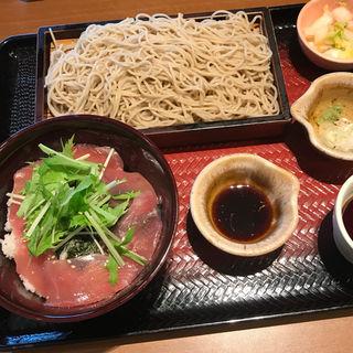 まぐろご飯とせいろ蕎麦(大戸屋 立川若葉町店 )