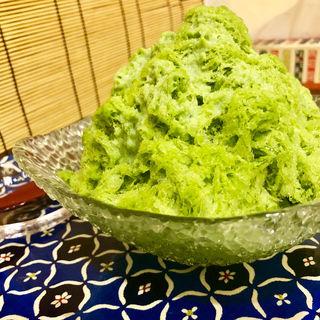 抹茶かき氷(和香奈)