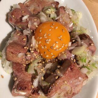 炙りレバ塩ユッケ(渋谷百軒店ノ小屋 )