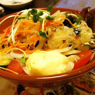 山ちゃんサラダ(世界の山ちゃん 川崎砂子店)