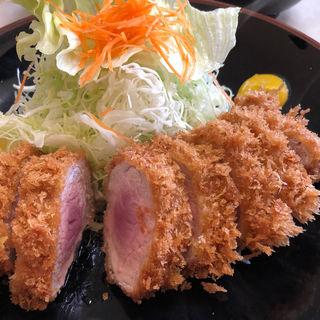 特上ヒレカツ定食(まるやま食堂 )