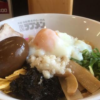 油そばスペシャル(三竹寿 宜野湾店 (三竹製麺所))