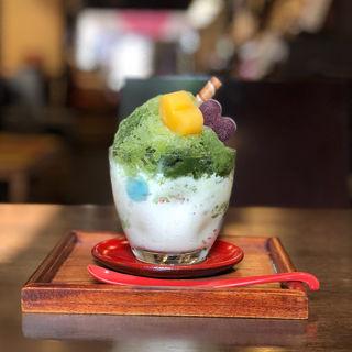 抹茶氷 もりぐちソフト(壽俵屋 犬山庵 )