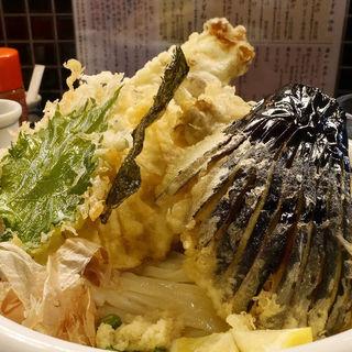 野菜天ぶっかけ・冷(饂飩工房 うばら)