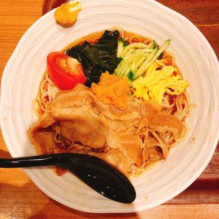 肉冷やし中華(麺処直久 新橋 (メンドコロナオキュウ))