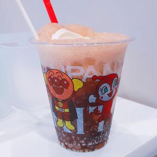 コーラフロート(プレミアムソフトクリーム 神戸アンパンマンミュージアム)