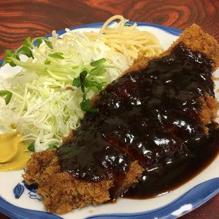 ロース味噌かつ定食(三春屋 )