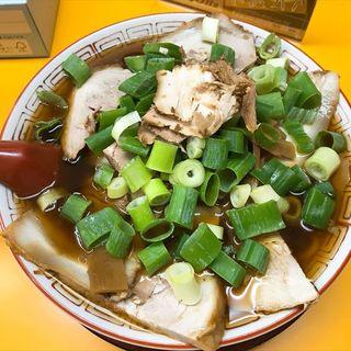 大チャ(チャーシュー麺大盛り)(中華そば 麺屋7.5Hz+ 梅田店 (7.5ヘルツプラス))