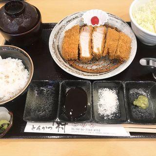 特上ロースかつ定食(150g)(とんかつ中村)