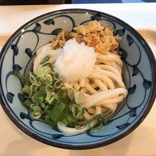 鶏天ぶっかけ(つるまる 北心斎橋店)