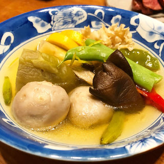 野菜煮物(りょうりや 御旅屋 )