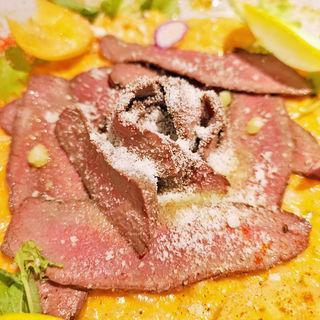 鹿肉ローストのリゾット(Inazuma Dining)
