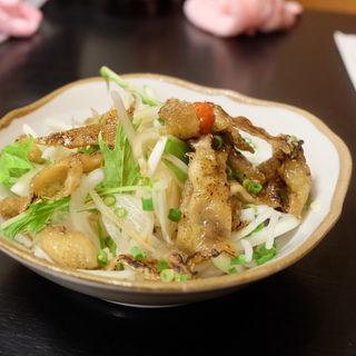 炙り鶏皮ポン酢(風来坊 小牧店)