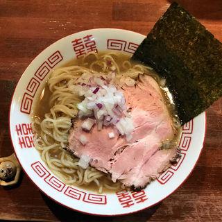 冷やし煮干しソバ(麺や而今 (じこん))