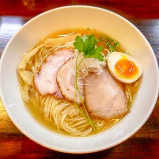 特製岡吹焼豚麺(平成30年8月14日限定)(麺座 かたぶつ )