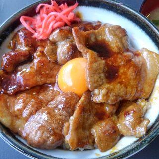 豚丼(双葉食堂)