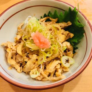 鶏皮ポン酢(山家 本店)
