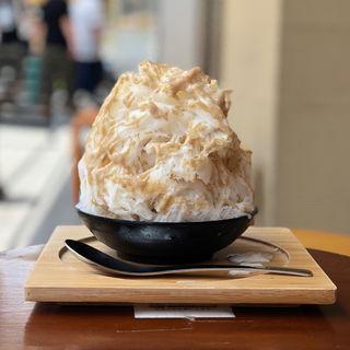 栗ミルク氷(栗ソフト入り)(今井総本家 )