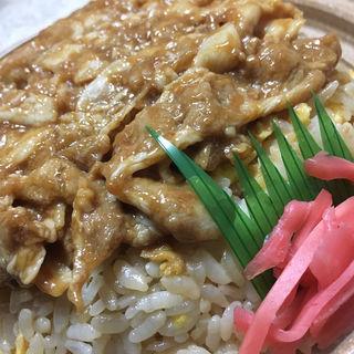 ど〜んと!豚焼肉チャーハン(セブンイレブン 札幌南9条西7丁目店)