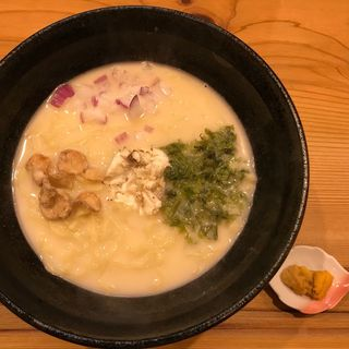 鯛ラーメン ウニっと醤(鯛ラーメン 銀次、ぷるっと。)