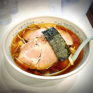醤油ねぎチャーシュー麺(唐桃軒 (トウトウケン))